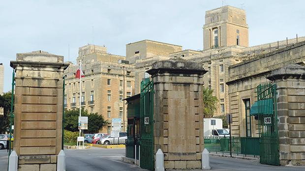 St Luke's Hospital: no investment but for plastering on its walls. Photo: Matthew Mirabelli