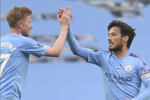 De Bruyne wants Champions League win for Silva's Man. City send-off