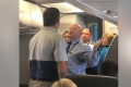 Airline employee suspended after row with passengers
