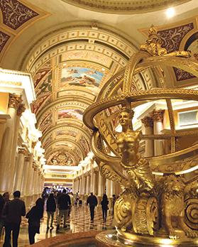 The Venetian is a five-diamond luxury hotel and casino resort located on the Las Vegas Strip.