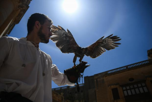 Medieval Mdina treated hundreds of visitors to a variety of re-enactments and activities on May 5. Photo: Jonathan Borg