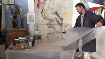 Watch: Dying fresco technique revived at Mrieħel school | Video: Matthew Mirabelli