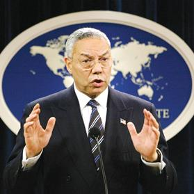 Colin Powell, Secretary of State at the time, was eventually told about the programme and sat in meetings in which harsh interrogation techniques were discussed.
