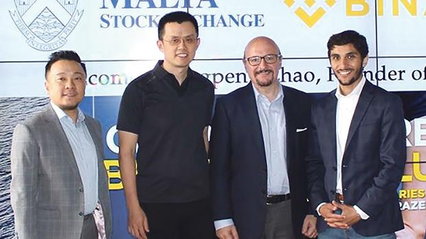 Binance and the Malta Stock Exchange announced their collaboration last June.