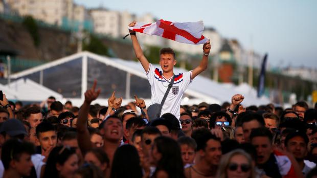 England fans will be heartened by results so far. Photo: Reuters