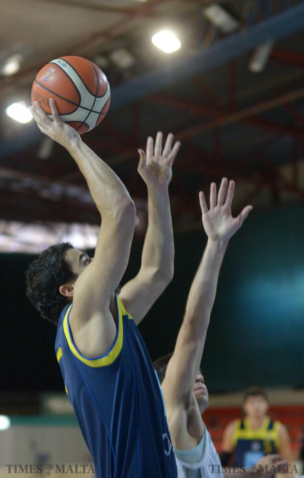 Depiro recovered from a difficult start to overwhelm Luxol 76-66 in the first leg of their Louis Borg Cup match on December 6. Photo: Matthew Mirabelli