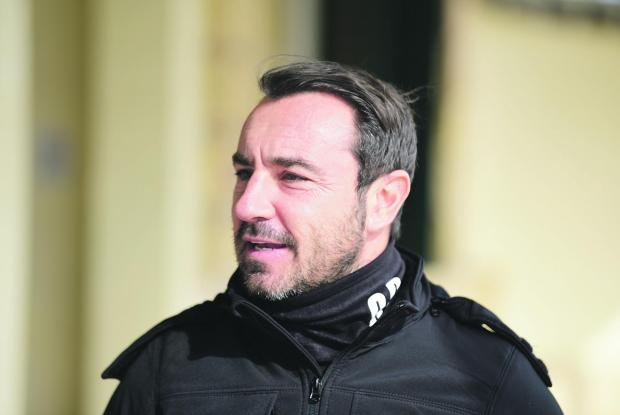 Cristian Brocchi is relishing the chance of leading Monza to Serie B promotion. Photo: Mark Zammit Cordina
