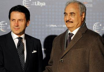 Libyan commander Haftar will attend meetings in Italy, not conference