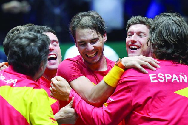 Nadal inspires Spain to sixth Davis Cup triumph