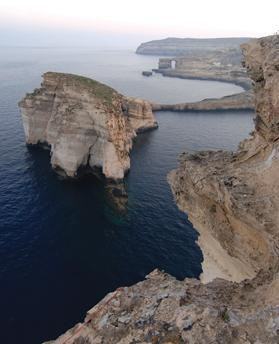 The pristine coastline in Gozo. Photo: viewingmalta.com