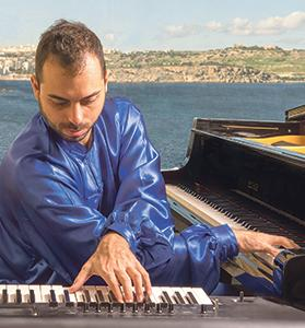 Composer and musician Leonardo Barilaro is playing original works during a concert titled SeaSharp on Friday.
