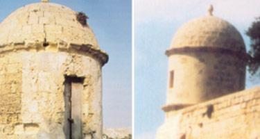 The Gardjola before and after restoration