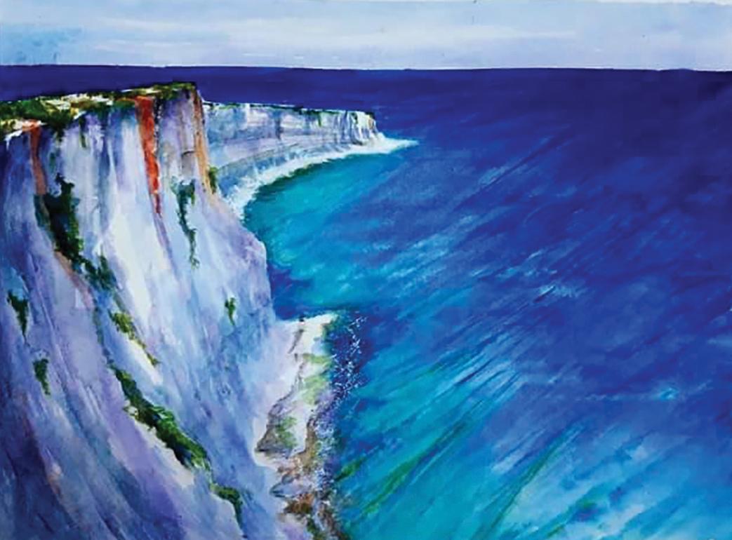 Munxar Cliffs by Marika Borg