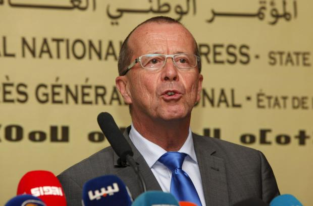 UN Special Representative and Head of the UN Support Mission in Libya, Martin Koble.