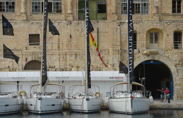 Yachts line Dock 1 in Cospicua on October 14, as the Valletta Boat show transformed the area into a nautical paradise featuring over 70 exhibitors, the show included the most prestigious names in the boating and yachting industry. Photo: Matthew Mirabelli