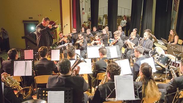 The University of Malta orchestra.
