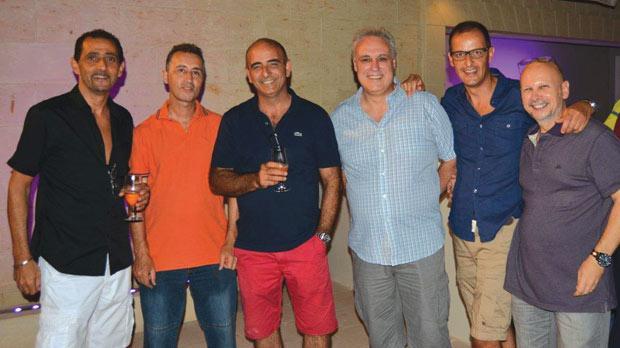 Noel Galea, Chris Grech, Philip Cassar Torregiani, Jesmond Attard, Kenneth Gauci Borda and Stephen Galea St John.
