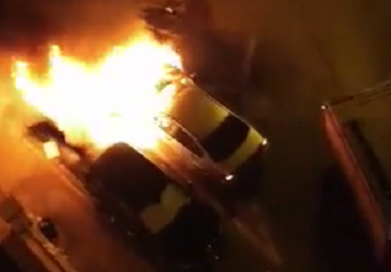 Blaze badly damages two cars in Sliema