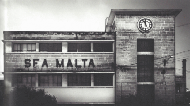 The old Sea Malta building. Photo: Modernist Malta, published by the Kamra tal-Periti