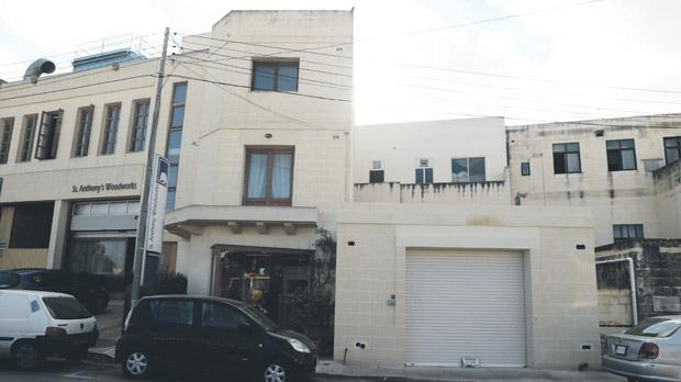 The three plots of land in Mosta acquired by Raymond Zammit and his brother are adjacent to the shop in the picture. Photo: Darrin Zammit Lupi