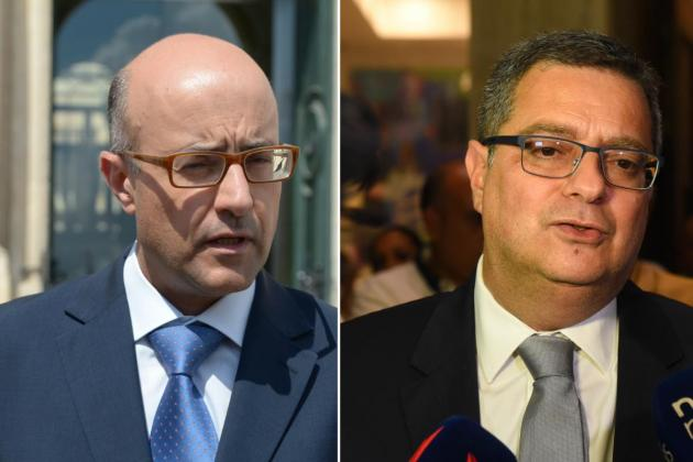 Adrian Delia files judicial protest against PN colleague Jason Azzopardi