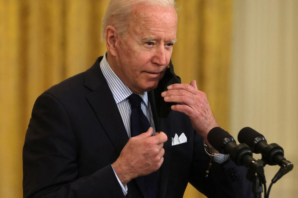 US president Joe Biden welcomed the revised CDC guidance and described it as a 'great day'. Photo: AFP