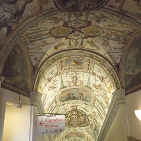 A visit to the Sistine Chapel in the Apostolic Palace at the Vatican City is a must.