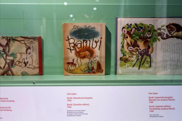 Neglected creator of 'Bambi' celebrated in Vienna show