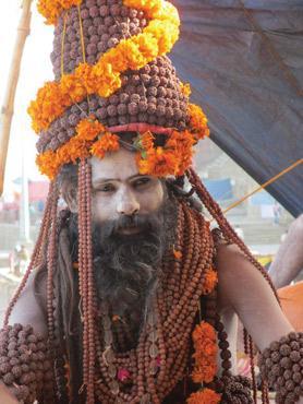 Smoking Chillum In Honour Of Lord Shiva