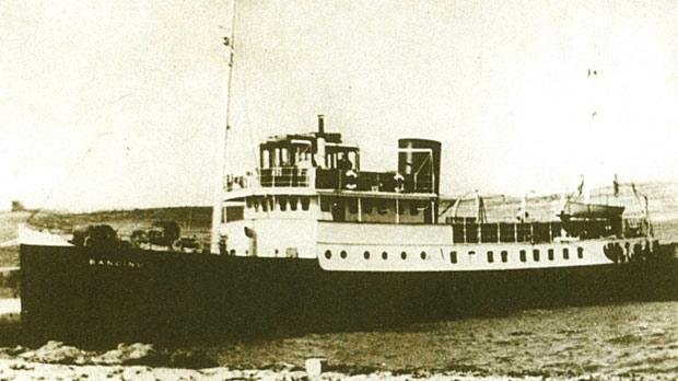 The Gozo ferry MV Banċinu.