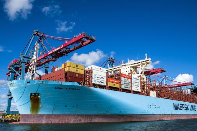 Maersk books record profit on surging freight demand