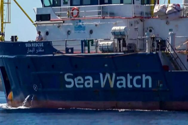 Sea-Watch 3 captain arrested after ship docks at Lampedusa