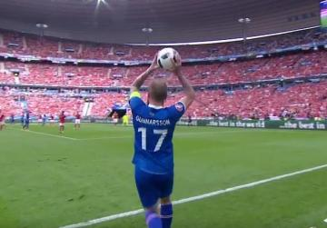 Iceland lead the long-throw revival