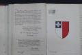 Original George Cross Volume deed to undergo restoration