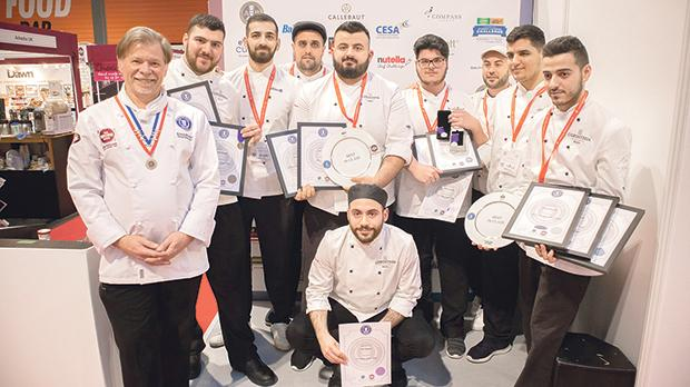 From left: Salon director chef Steve Munkley, Owen Bonello, Ryan Buhagiar, Mark Tabone, Johan Saliba, Reuben Borg, Jonathan Zammit, Alvin Vassallo, Daniel Busuttil and Ian Deguara.