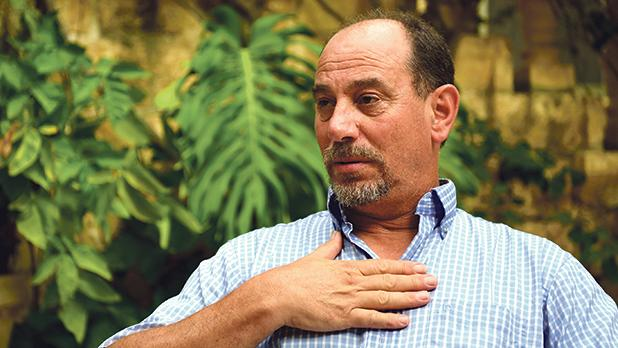 "Godfrey Farrugia: ""I want Malta to excel in many areas and not to be a mediocre island."" Photo: Mark Zammit Cordina"