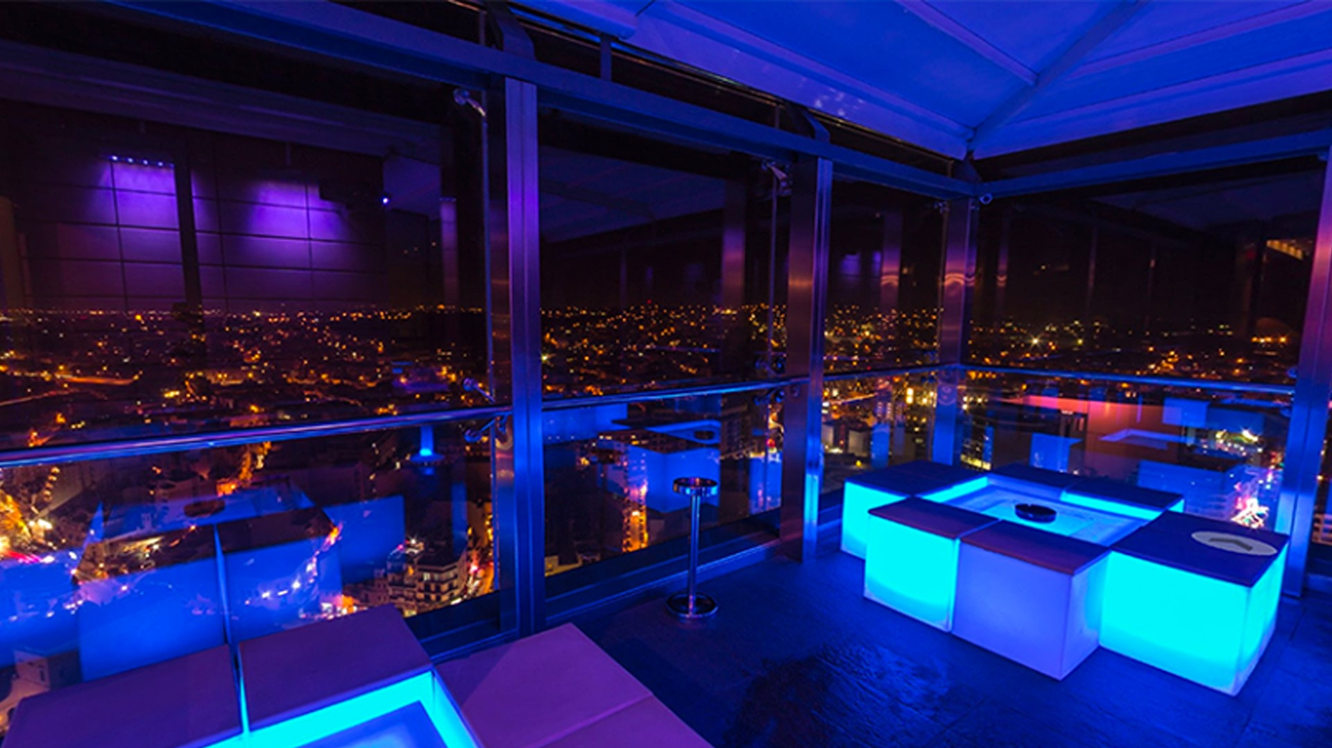 Level 22, the lavish Portomaso venue for the Electrogas party attended by the PM. Photo: Guidememalta.com