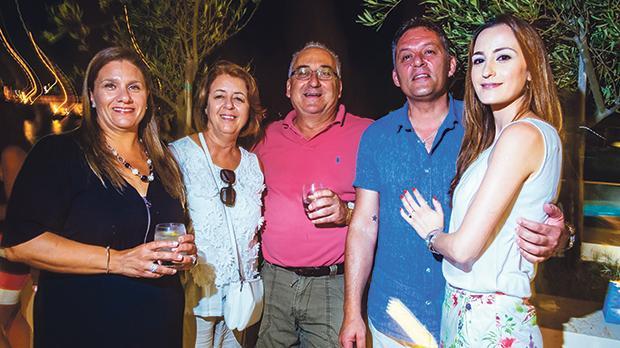 Grace Cauchi, Marie Grech, Gino Cauchi, George Attard and Katya Scicluna.