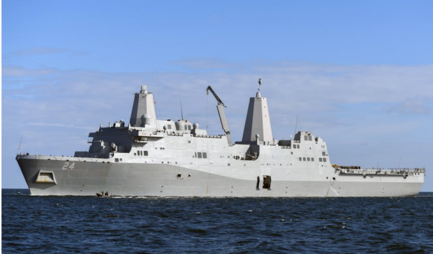 The USS Arlington was sent to the Gulf.