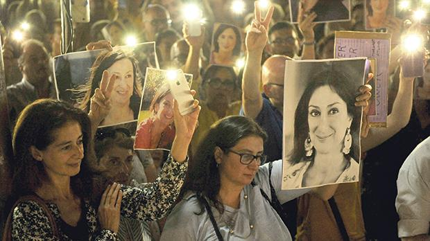 """""""We have witnessed a mild proliferation of 'activist journalists' hastily moulded in Daphne Caruana Galizia's image."""" Photo: Chris Sant Fournier"""