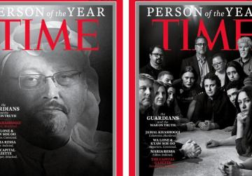 Time Person of the Year goes to murdered and persecuted journalists