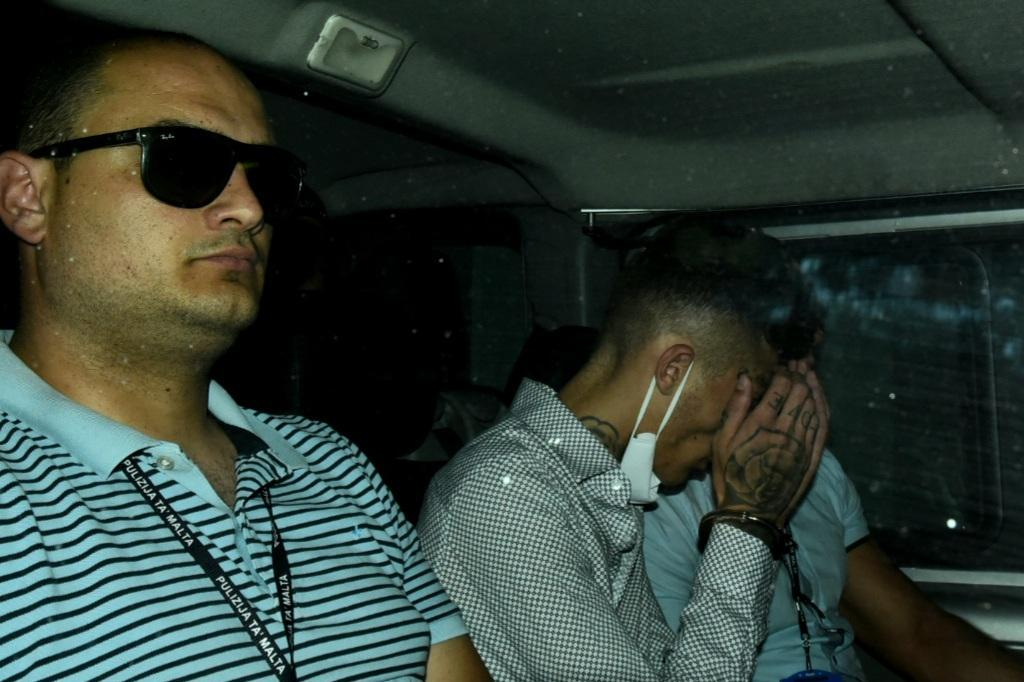 Owen Schembri, centre, is one of two teenagers accused of murdering Saviour Gafferena and injuring Vince Gafferena. (File photo)
