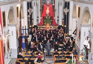 Holy Week concert in St Julian's