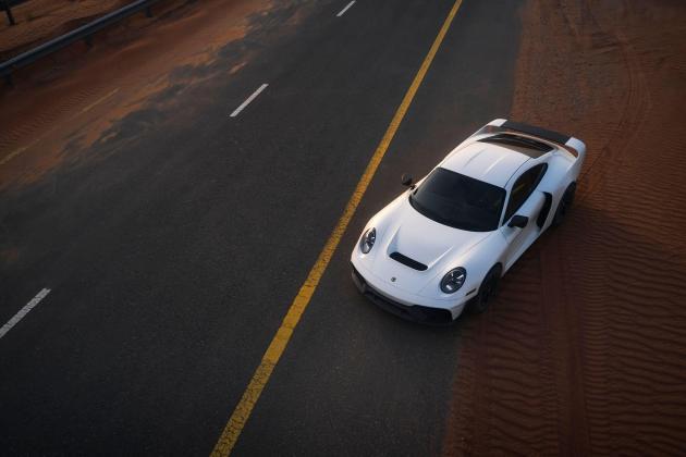 Gemballa Marsien is modern-day interpretation of a Porsche rally icon