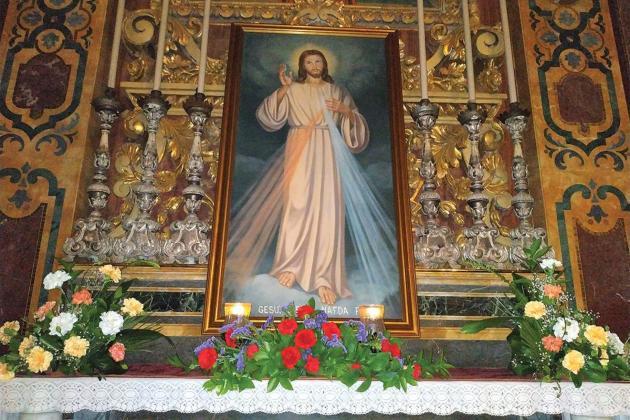 Divine Mercy Sunday celebration