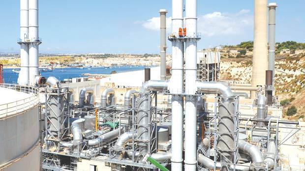 The new BWSC plant at Delimara will be converted to gas under Labour's plan.