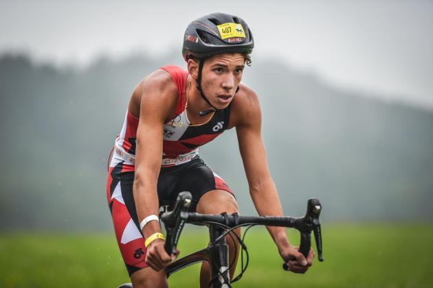 Kai Azzopardi among 20 European triathletes at Lausanne training camp