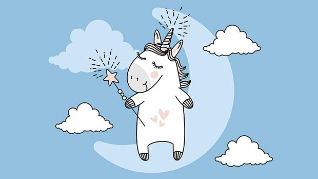 Ancient myths tell us that unicorns grant wishes to those pure of heart. Sophie's unicorn is probably the only hope in this Brexit mess. Photo: Shutterstock.com