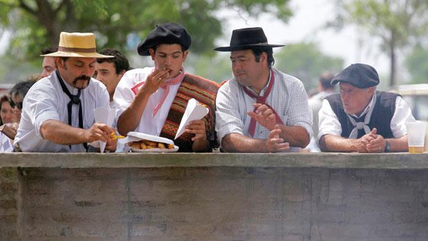 Gaucha festival, celebrating the cowboy lifestyle of the plains.