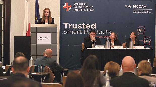The MCCAA conference on trusted smart products focused on the benefits and threats of connected technologies.